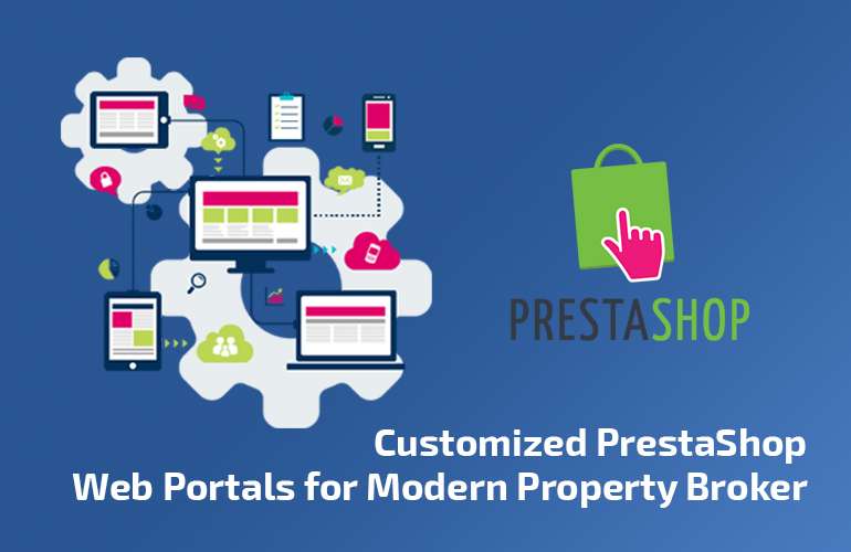 Customized PrestaShop Web Portals for Modern Property Broker