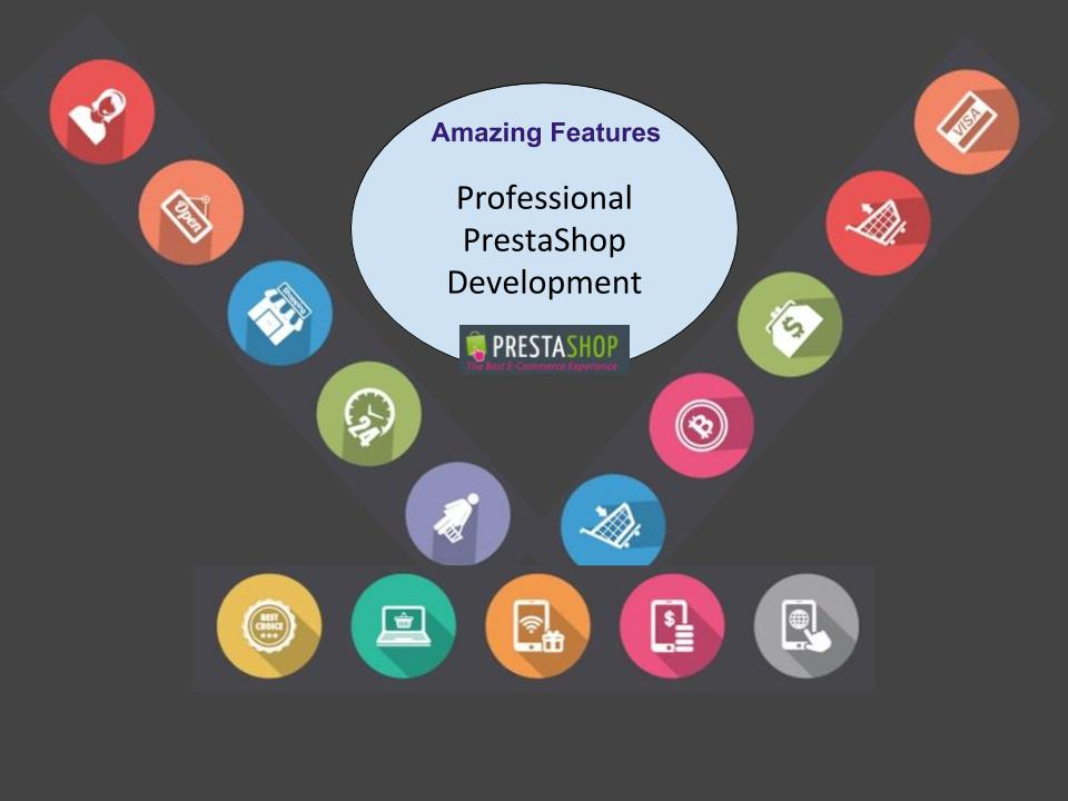 Amazing Features with Professional PrestaShop Development