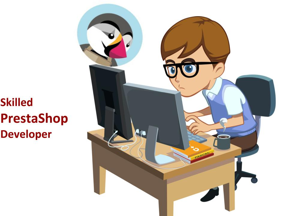 Skilled PrestaShop Developer