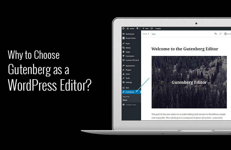why to choose gutenburg as WordPress editor