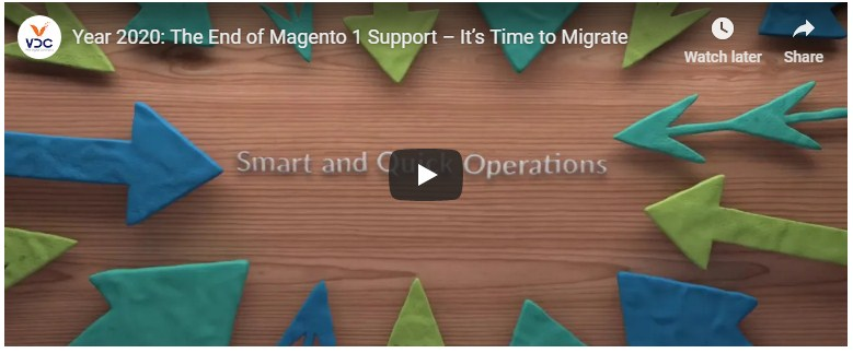 The End of Magento 1 Support Time to Migrate