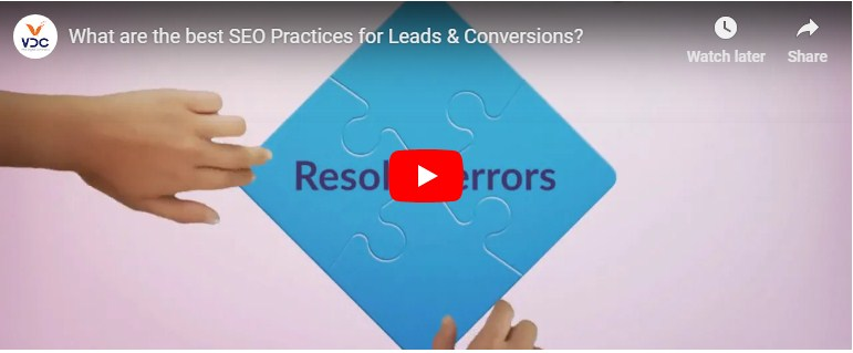 What are the best SEO Practices for Leads & Conversions