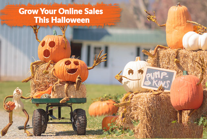 This Halloween grow your Sales for Online Stores