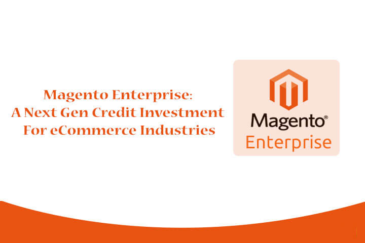 Magento Enterprise: A Next Gen Credit Investment For eCommerce Industries